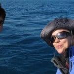 Anne et Teresa à bord d'Antsiva