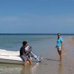 Antsvia sur une plage du Mozambique