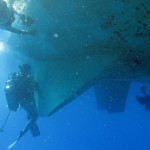 Carénage d'Antsiva en plongée
