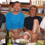 Ushuaïa et Nicolas Hulot à bord d'Antsiva