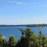 Baie des Russes vue des hauteurs