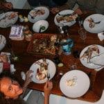 Diner à bord du voilier Antsiva