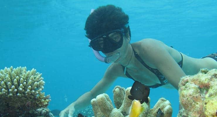 Snorkeling, palm - masques - tubas à Madagascar