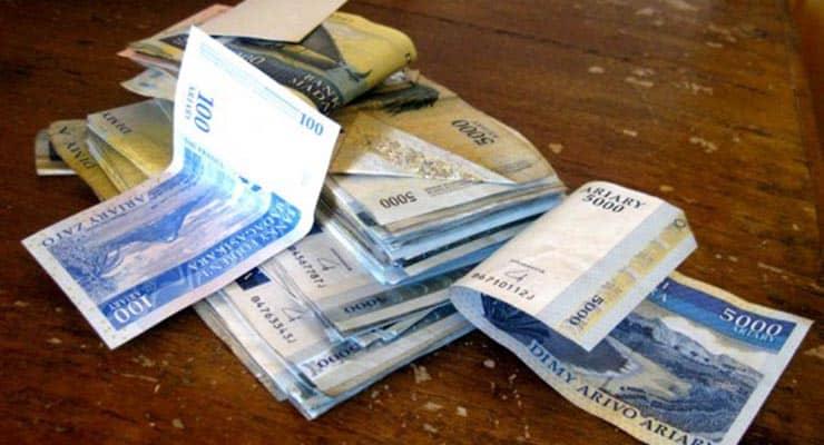 Quel monnaie à Madagascar ?