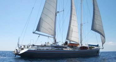 L'Antsiva, voilier à Nosy Be