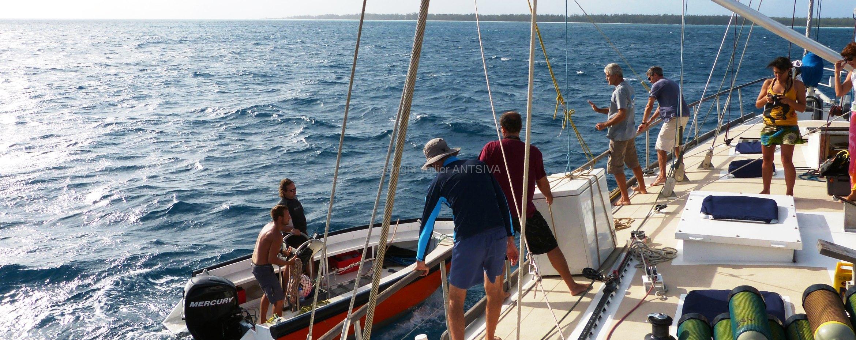 Croisière avec le voilier Antsiva dans l'Océan Indien