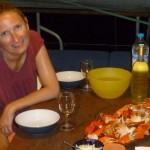 Dîner de crabes sur Antsiva