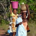 Femmes malgaches à la Baie des Russes