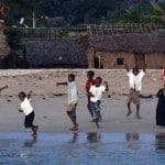 Groupe d'enfants à Mohéli
