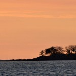 Nosy Komba au coucher du soleil