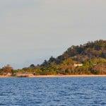 Nosy Komba vue depuis le voilier Antsiva