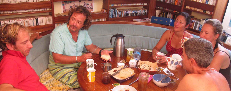 Petit déjeuner en croisière à Nosy Be - Madaagscar