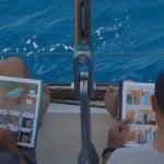 Pause BD à Madagscar à bord d'Antsiva